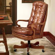 Leather Desk Chair by Prestige Havana Leather Desk Chair With Brown Basebrown Office Uk