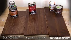 Furniture General Finishes Gel Stain Stain Dark Walnut Wood by 3 Tricks For A Beautiful Walnut Wood Finish U2013 Woodworkers Source Blog