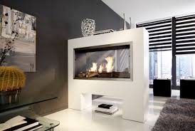 kamine design bioethanol fireplace contemporary open hearth sided