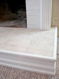 marble tile fireplace hearth home design ideas