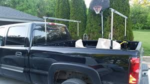nissan frontier ladder rack topperezlift turns your truck and topper into a pop up camper