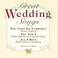 wedding songs great wedding songs various artists songs reviews credits