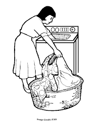 laundry free coloring pages kids printable colouring