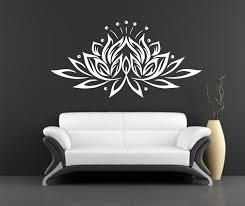 Meditation Home Decor Lotus Wall Decal Vinyl Sticker Decals Decor Design Om Sign