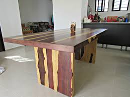 our new custom made dining room table gringation cancun