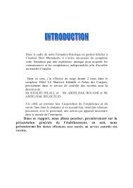 rapport de stage 3eme cuisine rapport de stage en cuisine pdf votre inspiration à la maison