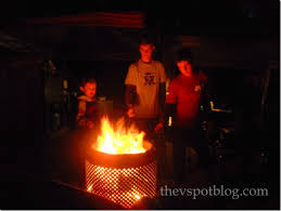 Making Fire Pit From Washer Tub - a wash tub fire pit how to find the right parts to make one