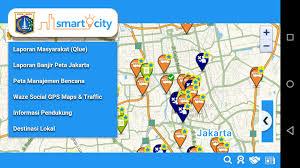 Waze Social Gps Maps Traffic Sistem Smart City Jakarta U2013 Wannabe Exceptional