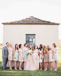 Ideas For Asking Bridesmaids To Be In Your Wedding 12 New Rules For Dressing Your Bridesmaids Martha Stewart Weddings