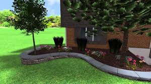 camelot driveway framing and raised flower beds youtube