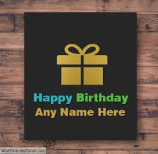 birthday brother greetings cards with name