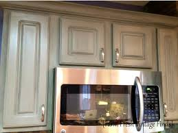 Annie Sloan Painted Kitchen Cabinets Painting Thermofoil Kitchen Cabinets The Big Reveal Farm