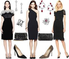 the black dress how to accessorise a black lace dress search