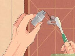 Removing Bathroom Mirror Glued by 3 Ways To Remove E6000 Glue Wikihow