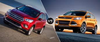Ford Escape Colors 2016 - ford escape vs 2016 ford escape