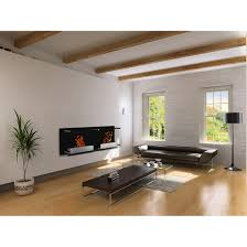 elite flame mora ventless bio ethanol wall mounted fireplace
