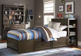 King Size Headboard With Storage Storage Headboard Bed Summer Bookcase And West Elm