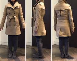 Women Winter Coats On Sale Cool Blue Camel Burberry Daylesmoore Wool Trench Coat Extra