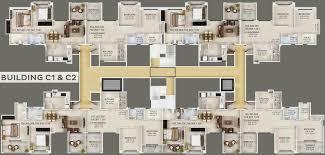 Floor Plan Of Spa Gaurdian Eastern Meadows In Kharadi Pune Price Location Map