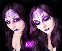 sea witch halloween makeup w tutorial by katiealves on deviantart