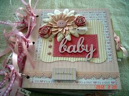 baby girl scrapbook album scrapbooking by phyllis premade 8x8 paper bag baby girl scrapbook