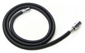 nylon braided kitchen faucet hose pulldown spray for replacement