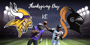 vikings knights to play on thanksgiving the westword