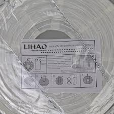 lanterne chinoise mariage papier blanc lot de 10 pièces lihao 12 30cm lanterne