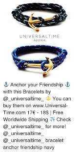 bracelet free friendship images Universal time austria anchor your friendship with this png