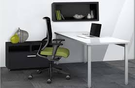 Modern L Shape Desk Paco Modern L Shaped Desk