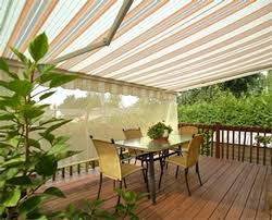 Costco Sunsetter Awnings The Brasilia Retractable Awning Patio Awnings Motorized And