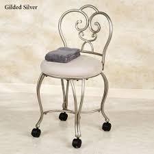 Vanity Chairs For Bathroom Lecia Vanity Chair