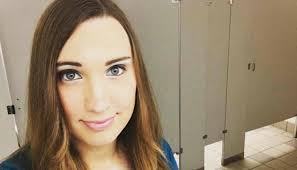 trans woman posts selfie proves how ridiculous this bathroom