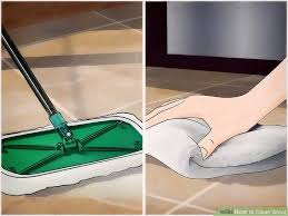 How To Remove Hair From Bathroom Floor 4 Ways To Clean Grout Wikihow
