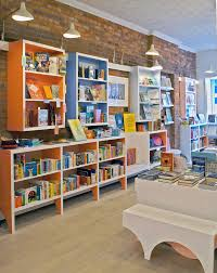 lamas crafts the interior of stories bookshop storytelling lab