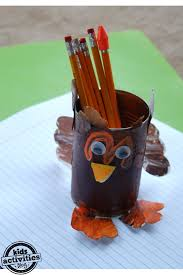 turkey can thankful turkey craft with free printable kids activities
