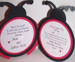 bulk ladybug baby shower invitations baby shower decoration