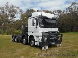 mercedes prime mover 2012 mercedes 3260 prime mover truck for sale truck centre wa