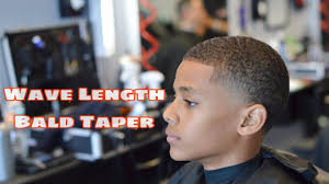 bald taper wave length haircut hair fiber enhancement youtube