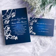 royal blue wedding invitations charming gradient blue wedding invitation iwi073 wedding
