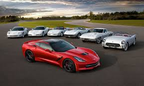 just corvette the seventh generation of the chevrolet corvette has just made its