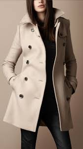 burberry mid length wool twill trench coat iluxdb