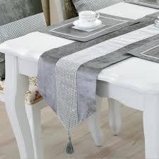 linge de cuisine étincelant strass linge chemin de table nappe nappe décoration de