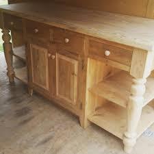 amish made reclaimed barn wood unfinished 6 u0027 kitchen island custom