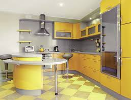 kitchen ideas modern yellow modern kitchen design home improvement 2017 fashionable