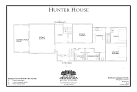 Floor Plan For Wedding Reception by Historic Properties Rental Services Hunter House Fairfax County