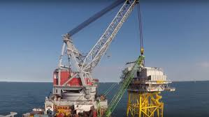 Watch This 1 700 Tonne Lift On The Dudgeon Bank Completed By Heavy