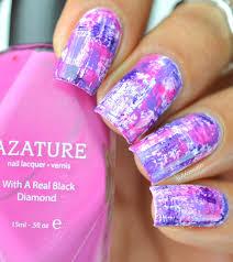 cheerful dry brush nail art lifeisnails