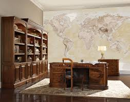 Large Wall World Map by Neutral Style Map 4 Piece Large Wall Mural Wm 4p