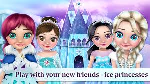 House Design Makeover Games Ice Princess Doll House Games Android Apps On Google Play
